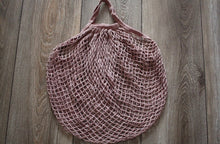 Farmers Market Bag Mauve