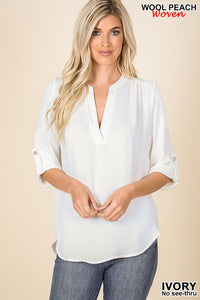 Angie's Fav Top Ivory