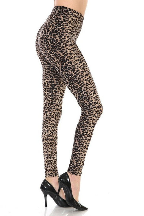 Latifa Leopard Leggings O/S