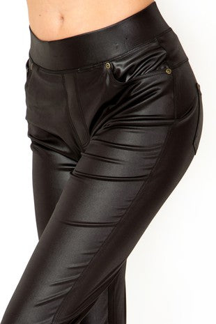 Mad Max Pleather Leggings