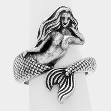 Mermaid Ring Silver