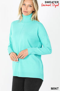 Carmela Turtleneck Mint