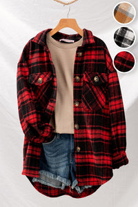 Lumberjack Button Down Red