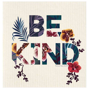 Be Kind Swedish Dishcloth