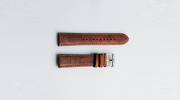 Leather Watch Strap | Making, Patina & Vegetable-Tanning