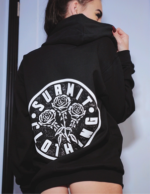 Submit Rose Logo Hoodie