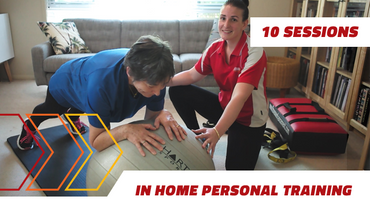 10 in home Personal Training sessions