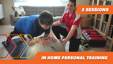 3 in home Personal Training sessions