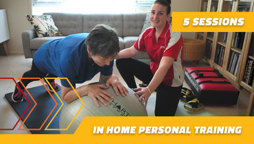 5 in home Personal Training sessions