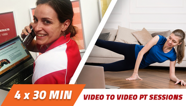 4 week Video to Video Personal Training 1 x 30 minutes per week