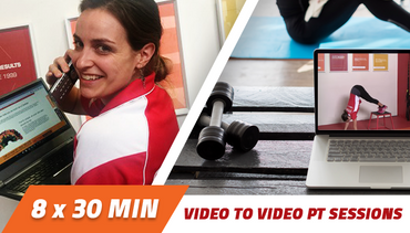 4 week Video to Video Personal Training 2 x 30 minutes per week