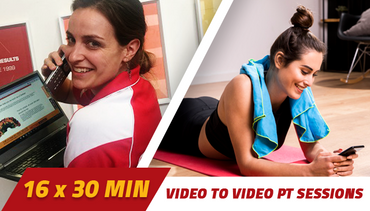 8 week Video to Video Personal Training 2 x 30 minutes per week