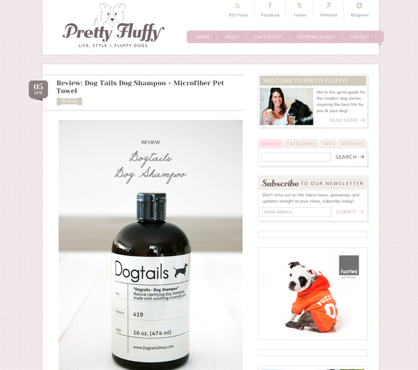 pretty fluffy dogtails review