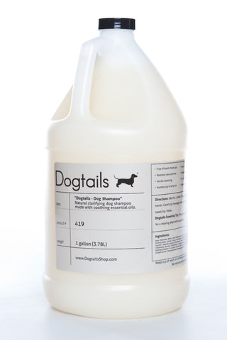 Dogtails Natural Dog Shampoo Gallon