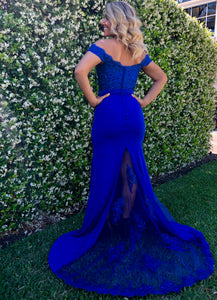 La Viviana - Royal Blue Evening Gown