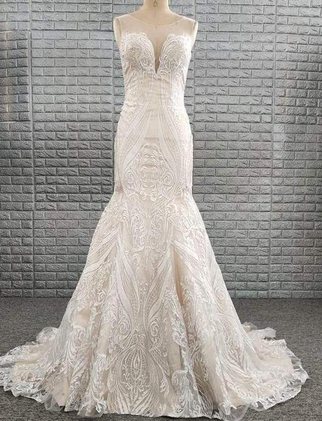 Florence Gown - Lace illusion
