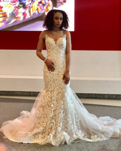Fleurs d'or - Mermaid Bridal Gown