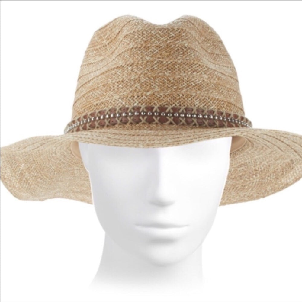 Women's Straw Fedora by San Diego Company QUICK SHIP USA