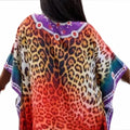 Caftan Dress Vibrant color print Ethnic fashion