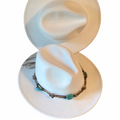 Fedora Hat Hats Fedoras White