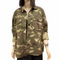 WoMen's relax fit lightweight jacket Camo print large