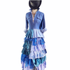 Mermaid Duster And Maxi Dress Collection Set