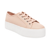 Women's Future Leather Blush Platform Sneakers by Steve Madden