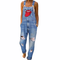 Overalls Distressed denim Jeans