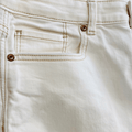 Women's Ivory White Distressed Denim  American Eagle Outfitters Jeans