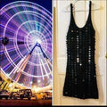 Women's Dress Knit Sleeveless Plunge Neck Bodycon - FREE SHIPPING USA - Wild Time Fashion