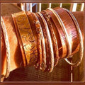 Women's NEW Bracelet Copper Bangle Silversmith Jewelry - FREE SHIPPING USA - Wild Time Fashion
