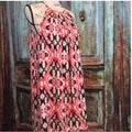 Dress Halter Style Multi Colored Print - FREE SHIPPING USA - Wild Time Fashion