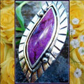Women's Statement Ring Semi Precious Stone 925SS  - FREE SHIPPING USA - Wild Time Fashion