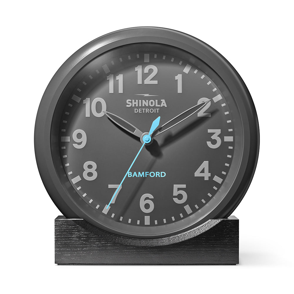 Shinola teams up with George Bamford on a limited edition Runwell Wall Clock