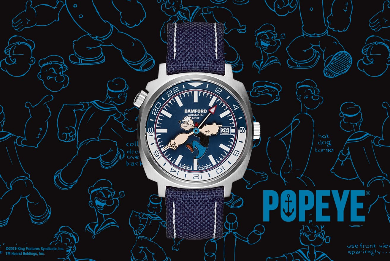 Press For The Popeye GMT