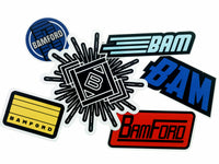 Bamford Stickers Full-Set 3 [Pack-6]