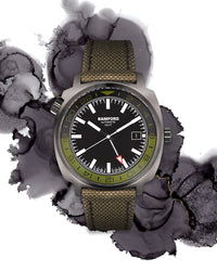 Bamford GMT Green and Black