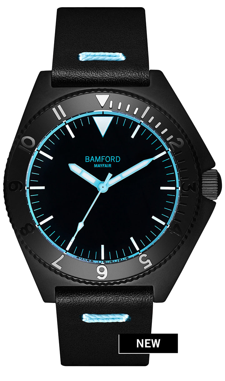 Bamford Mayfair - Aqua Accents