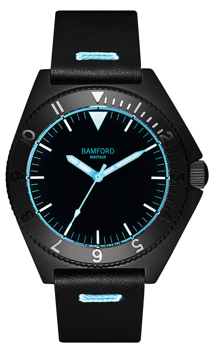 Bamford Mayfair - Neon Blue Accents