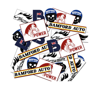 Bamford Stickers Full-Set 2 [Pack-6]