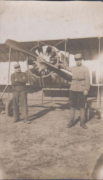French Spad in Morocco - circa 1918
