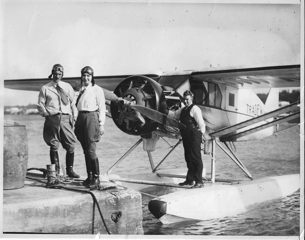 Float Plane Celebrities - 1931