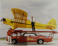Large Color Photo of Shortest Airport Air Show Act - circa 1970s