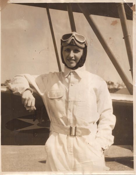 Twice-Widowed + Once Engaged and All Died; She is Still Flying - 1931