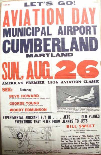 Air Show Poster - 1956