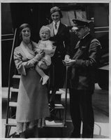 One-Year-Old Takes First Airplane Ride - 1933