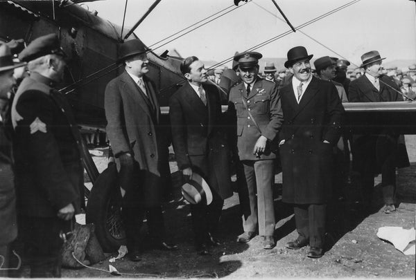 "Welcoming for Transatlantic ""Bremen"" Flight - 1929"