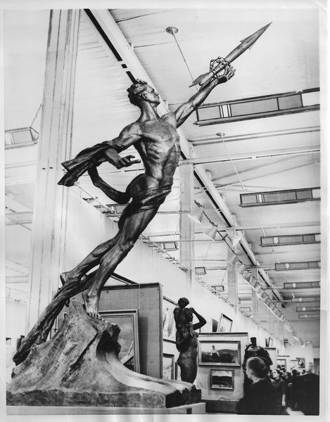 "Sputnik Sculptured ""To the Stars"" -1957"