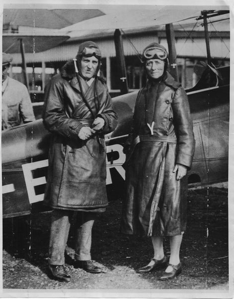 Duchess of Bedford to Try for Record Flight to India - 1929