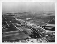 Aerial View of Air Corps Field - circa 1930